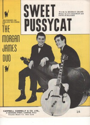 Sweet Pussycat - Old Sheet Music by Campbell Connelly