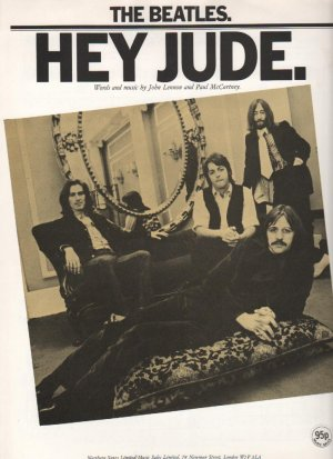 Hey Jude - Old Sheet Music by Northern