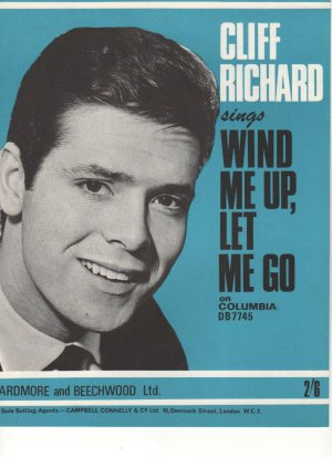 Wind me up let me go - Old Sheet Music by Ardmore & Beechwood