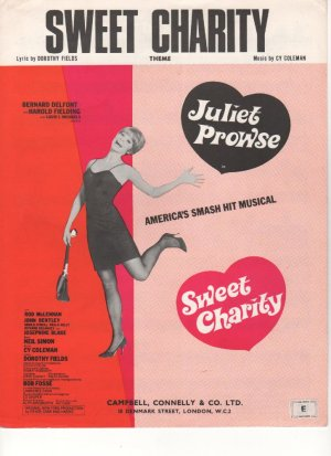 Sweet charity - Old Sheet Music by Campbell Connelly