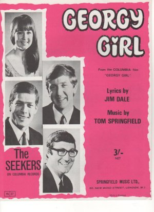 Georgy girl - Old Sheet Music by Springfield