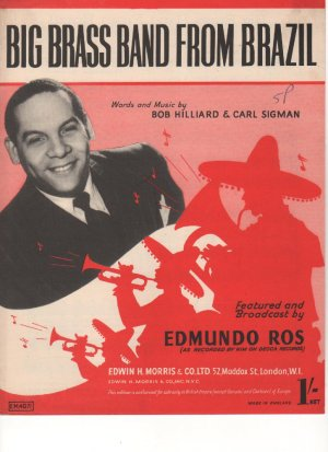 Big brass band from Brazil - Old Sheet Music by Morris