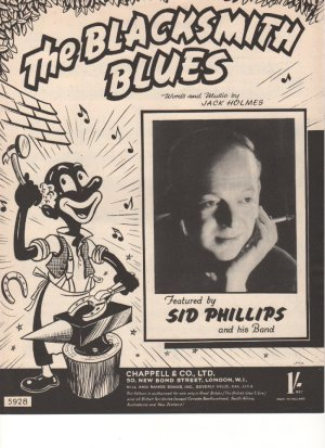 The blacksmith blues - Old Sheet Music by Chappell