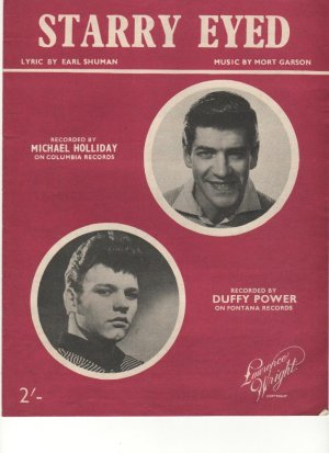 Starry eyed - Old Sheet Music by Lawrence Wright