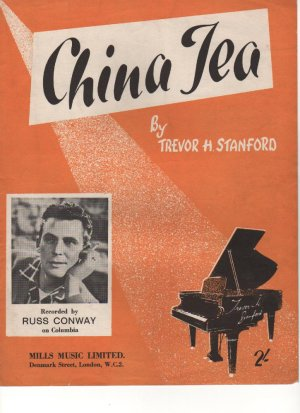 China tea - Old Sheet Music by Mills