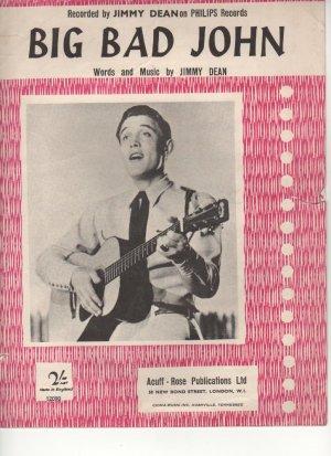 Big bad John - Old Sheet Music by Acuff-Rose