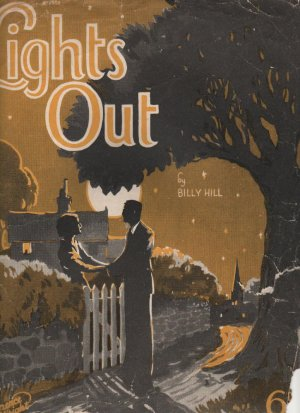 Lights out - Old Sheet Music by Lawrence Wright