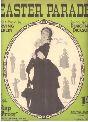 Easter parade - Old Sheet Music by Chappell