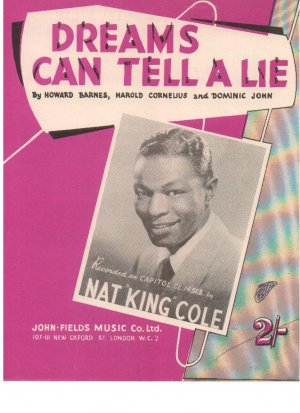 Dreams can tell a lie - Old Sheet Music by John Fields