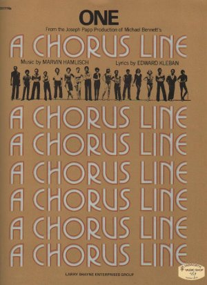 One - Old Sheet Music by Shayne