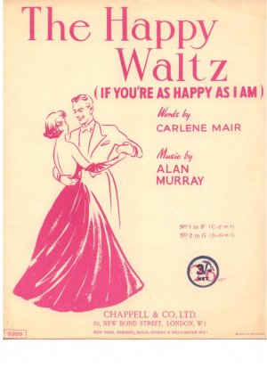 The happy waltz - Old Sheet Music by Chappell