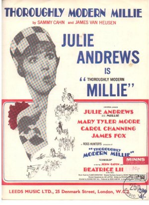 Thoroughly modern Millie - Old Sheet Music by Leeds