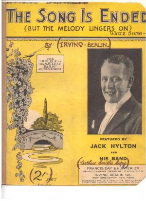 The song is ended - Old Sheet Music by Francis Day & Hunter