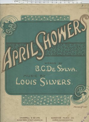 April showers - Old Sheet Music by Chappell