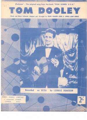 Tom Dooley - Old Sheet Music by Essex