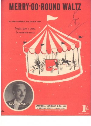 Merry go round waltz - Old Sheet Music by Campbell Connelly