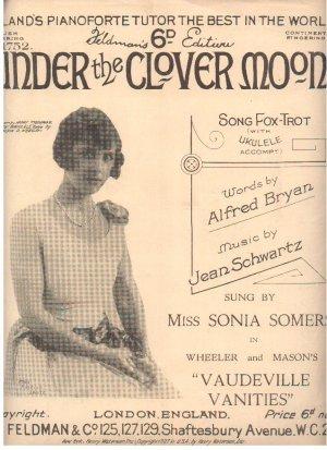 Under the clover moon - Old Sheet Music by Feldman