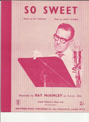 So sweet - Old Sheet Music by Southern