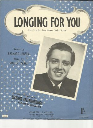 Longing for you - Old Sheet Music by Chappell