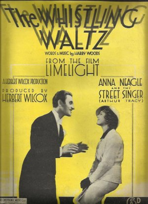 The whistling waltz - Old Sheet Music by Cinephonic