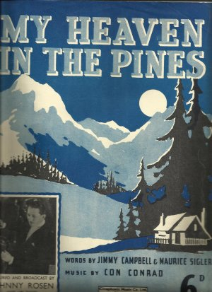 My heaven in the pines - Old Sheet Music by Cinephonic