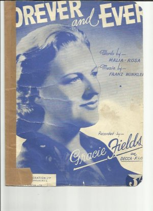 Forever and ever - Old Sheet Music by Robbins