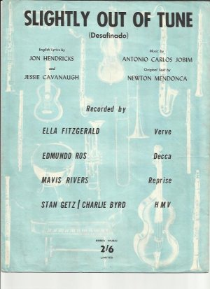 Slightly out of tune - Old Sheet Music by Essex