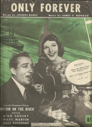 Only forever - Old Sheet Music by Campbell Connelly