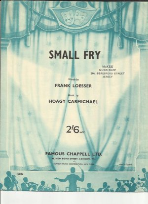 Small fry - Old Sheet Music by Chappell
