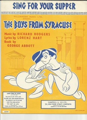 Sing for your supper - Old Sheet Music by Chappell