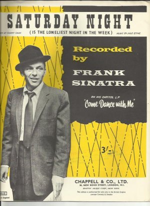 Saturday night - Old Sheet Music by Chappell