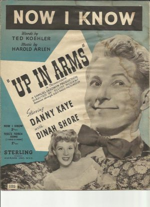 Now I know - Old Sheet Music by Sterling