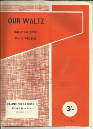Our waltz - Old Sheet Music by Bregman Vocco & Conn