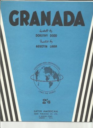 Granada - Old Sheet Music by Latin American