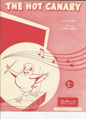 The hot canary - Old Sheet Music by Leeds