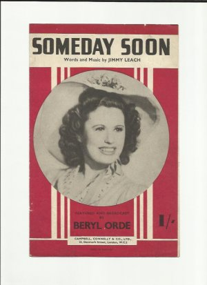 Someday soon - Old Sheet Music by Campbell Connelly