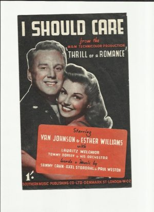 I should care - Old Sheet Music by Southern