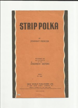Strip polka - Old Sheet Music by New World