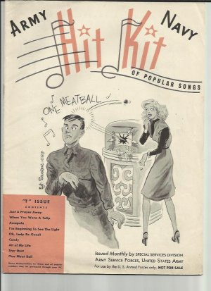 Army Navy Hit Kit - Old Sheet Music by Special Services Division