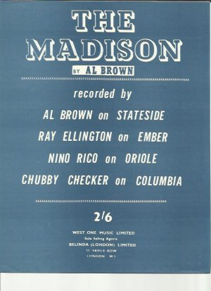 The Madison - Old Sheet Music by Belinda