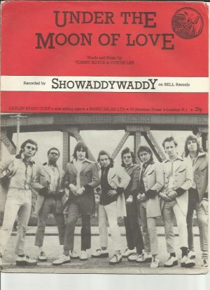 Under the moon of love - Old Sheet Music by Carlin