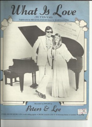 What is love - Old Sheet Music by Music Sales
