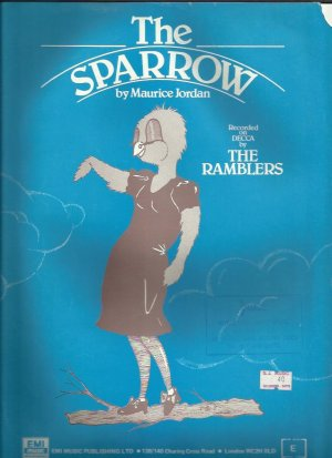 The sparrow - Old Sheet Music by EMI