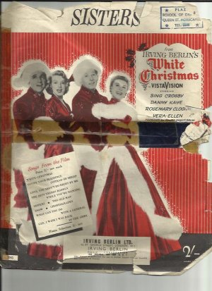 Sisters - Old Sheet Music by Irving Berlin