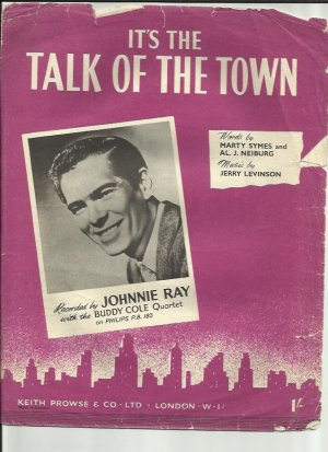 It's the talk of the town - Old Sheet Music by Prowse