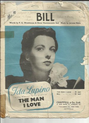 Bill - Old Sheet Music by Chappell
