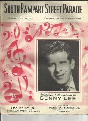 South Rampart Street Parade - Old Sheet Music by Francis Day Hunter