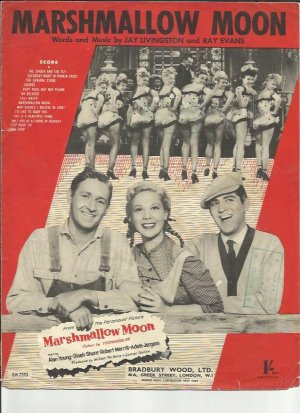 Marshmallow moon - Old Sheet Music by Bradbury Wood