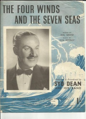 The four winds and the seven seas - Old Sheet Music by New World