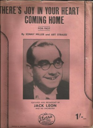 There's joy in your heart coming home - Old Sheet Music by Norris